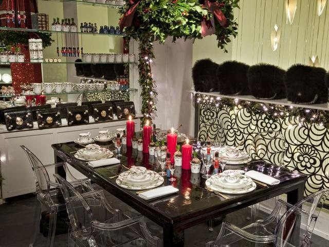 Декор новорічного столу