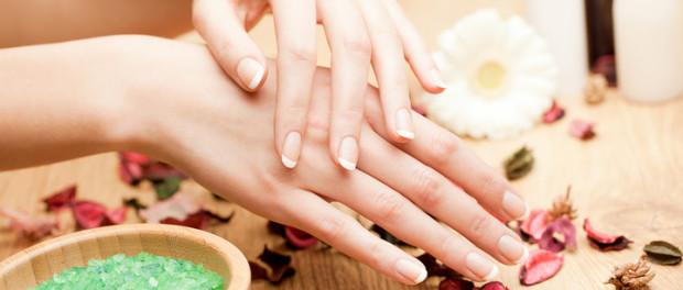 ванночка для нігтів , будьте красивими