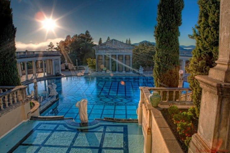 Hearst Castle, San Simeon, Каліфорнія, США