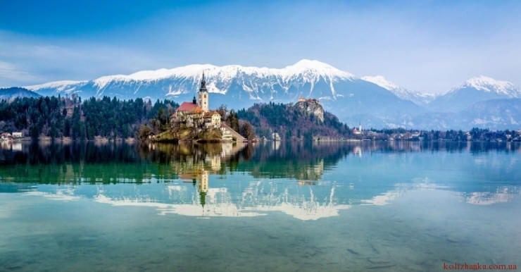 Озеро Блед, Блед, Словенія