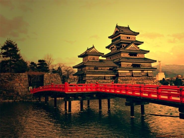 Замок Мацумото, префектура Нагано, Японія