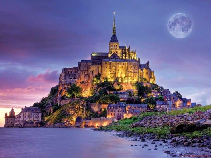 Мон-Сен-Мішель, Нормандія, Франція