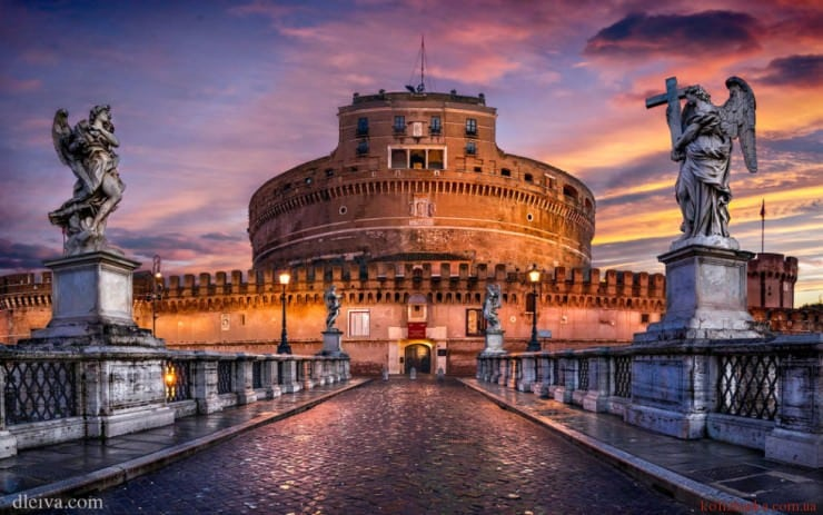 Кастель Сант-Анджело, Рим, Італія
