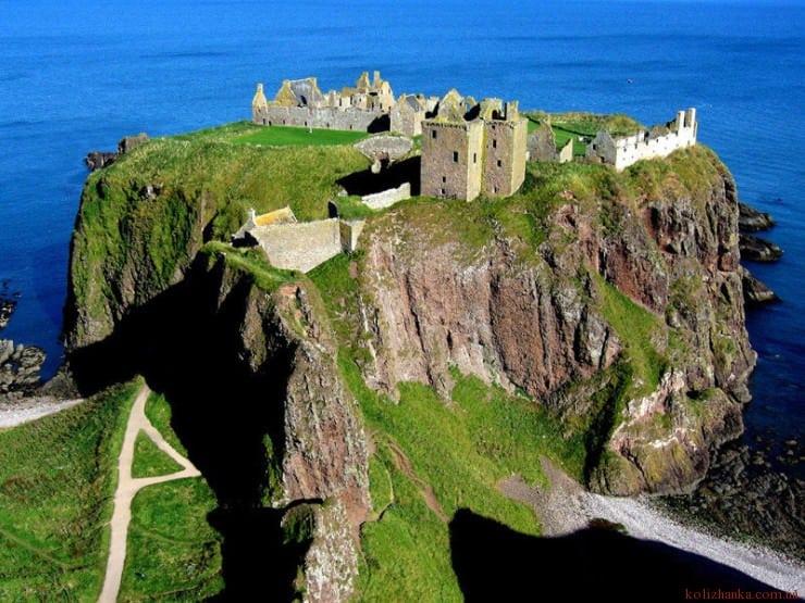 Дунноттар замок, Абердиншир, Шотландія