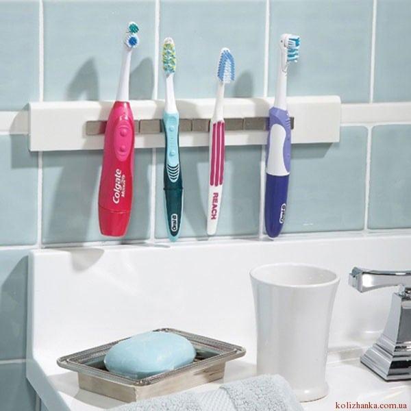 Магнітний тримач для зубних щіток