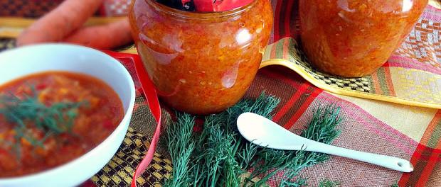 Кабачкова ікра – консервація без стерилізації