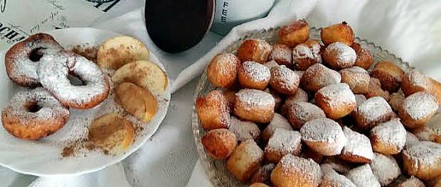 Сирні пончики – легко і смачно ! Рецепт приготування