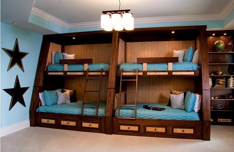 Двухэтажная комната как сделать