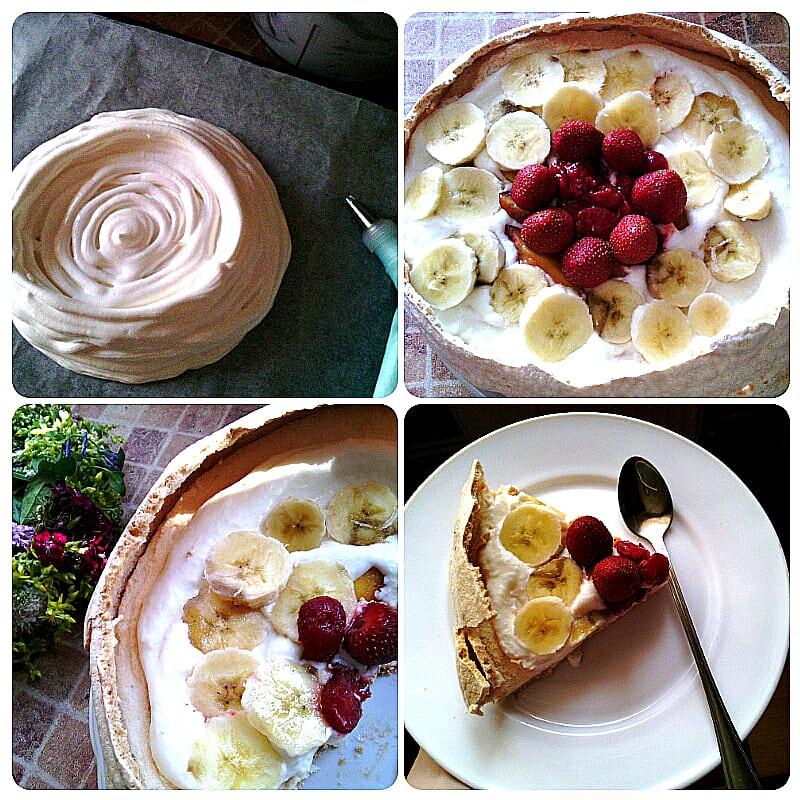 Торт «Павлова». Історія та рецепт приготування