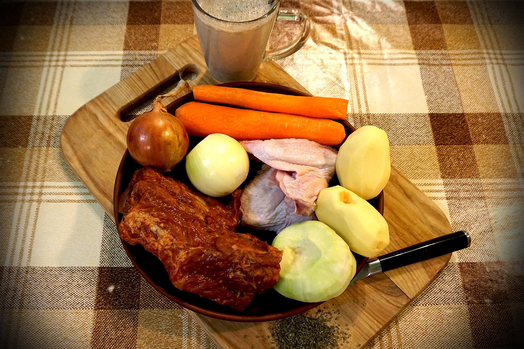 Журек, варіант львівський. Покроковий рецепт з фото