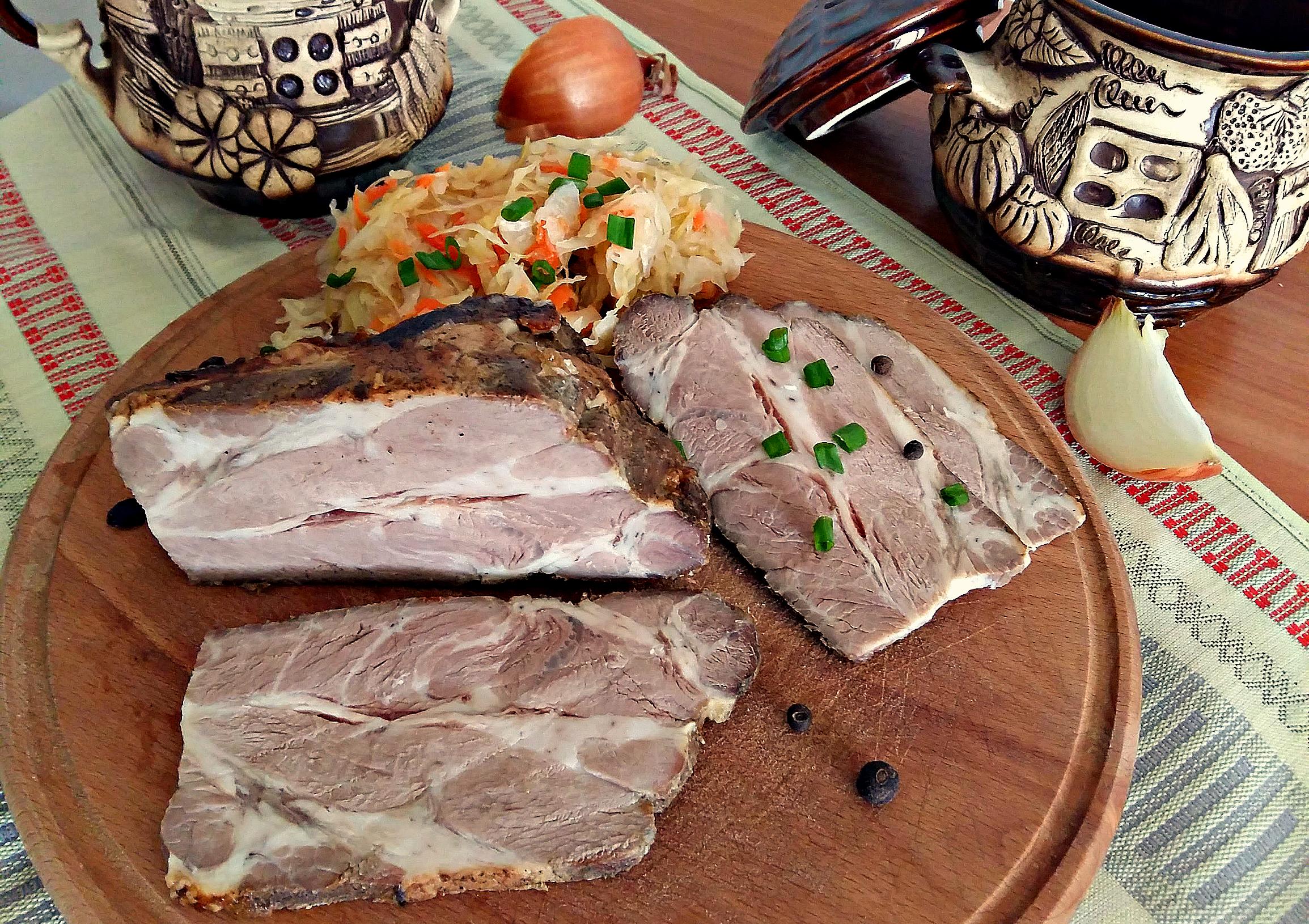 Свинний ошийок, запечений в духовці