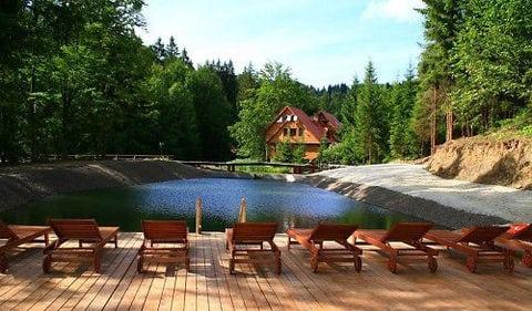 Озеро Віта в селі Нижнє Студене Закарпатської області