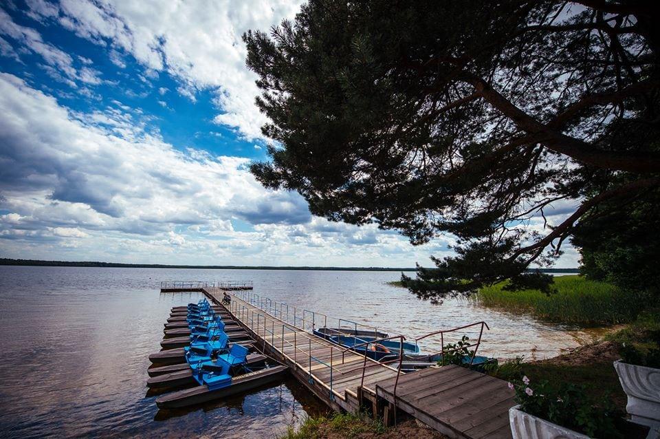 Біле озеро біля села Рудка Рівненській області