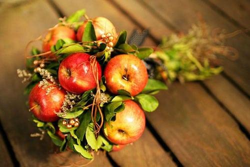 Креативні букети з овочів та фруктів ( 27 фото )