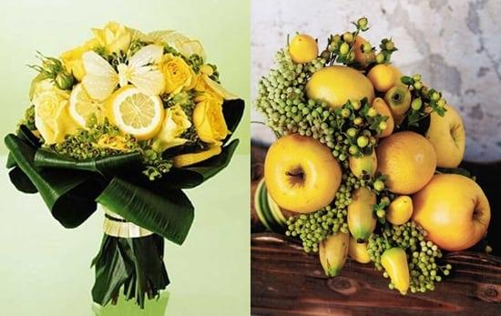 Букет из фруктов и овощей своими руками фото