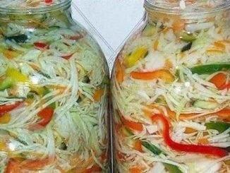 Капуста на зиму - 5 смачних рецептів
