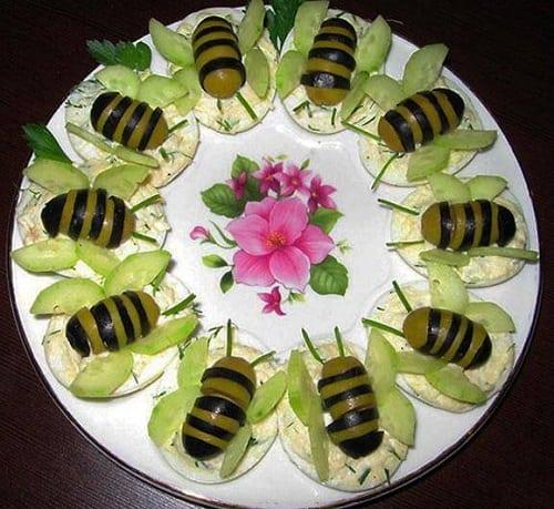Оформлення закусок до святкового столу. ТОП-11 варіантів з фото