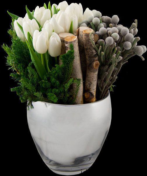 Весняна флористика. Фото-ідеї декору з тюльпанами (15)