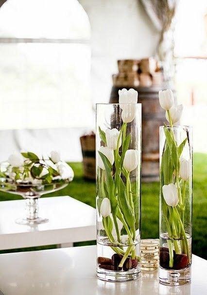 Весняна флористика. Фото-ідеї декору з тюльпанами (18)