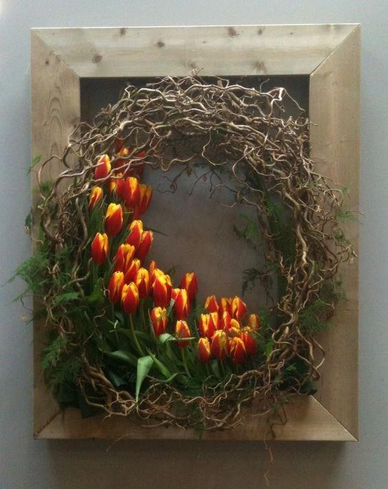 Весняна флористика. Фото-ідеї декору з тюльпанами (5)