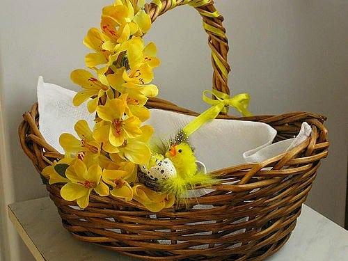 Декор Великоднього кошика 33 фото-ідеї (16)