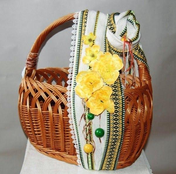 Декор Великоднього кошика 33 фото-ідеї (29)