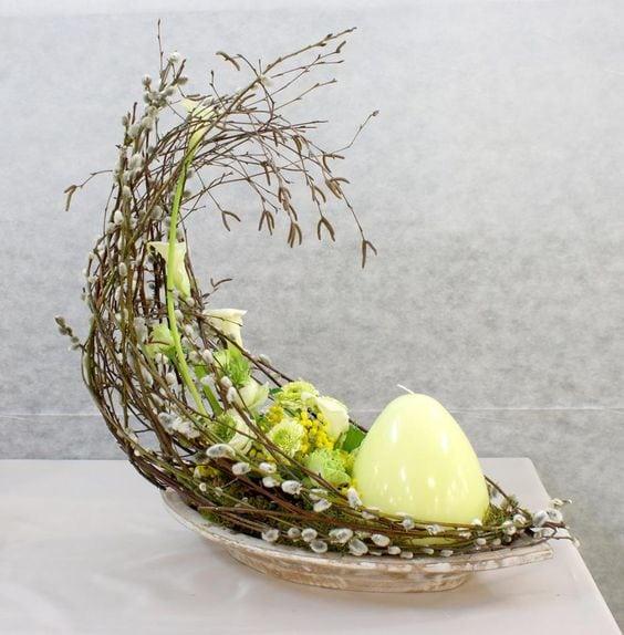 Пасхальна флористика та декор 45 ідей з фото (29)