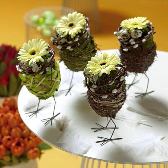 Пасхальна флористика та декор 45 ідей з фото (4)
