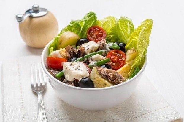 """Французький салат """"Нісуаз"""""""