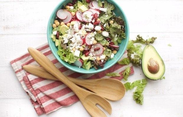 Салат-латук з редисом