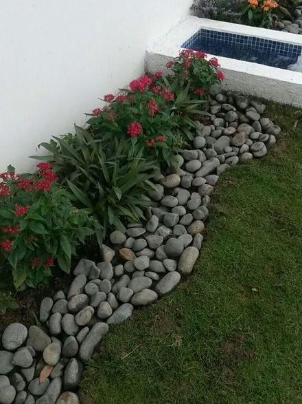 Квітники під парканом та навколо дому 25 оригінальних ідей (1)