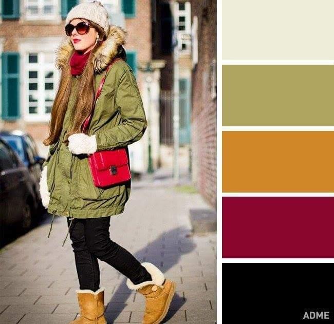 Трендові кольори в одязі осінь-зима фото та найактуальніші поєднання (17)