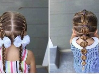 Стильні зачіски для дівчаток з довгим волоссям (16 фото)