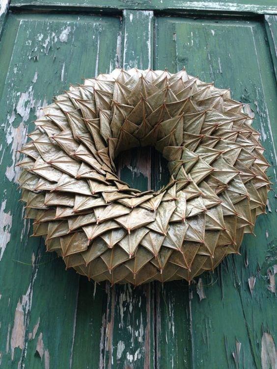 Декоративні віночки з простих матеріалів 35 ідей (12)