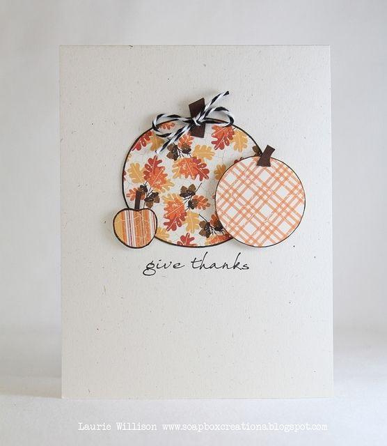 Осінні листівки своїми руками (60 цікавих ідей з фото) (15)