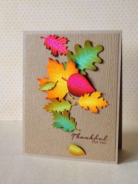Осінні листівки своїми руками (60 цікавих ідей з фото) (3)