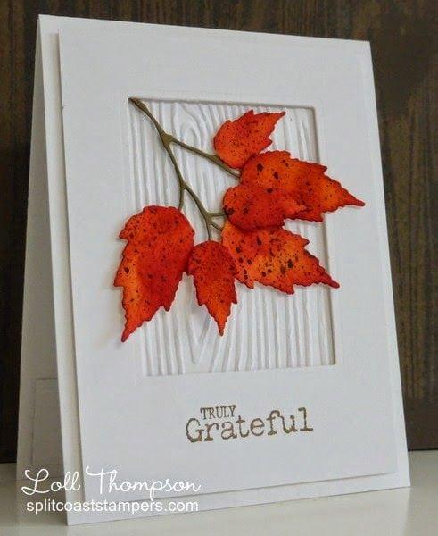Осінні листівки своїми руками (60 цікавих ідей з фото) (31)