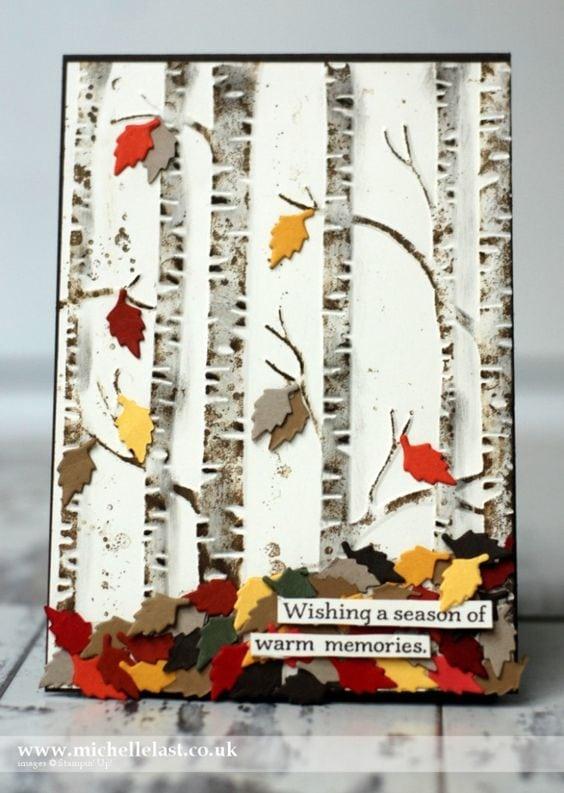 Осінні листівки своїми руками (60 цікавих ідей з фото) (38)