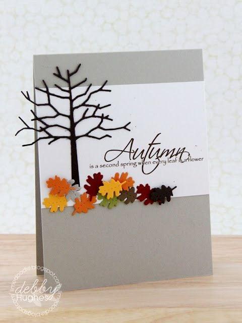 Осінні листівки своїми руками (60 цікавих ідей з фото) (4)