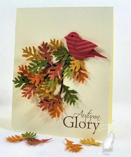 Осінні листівки своїми руками (60 цікавих ідей з фото) (41)