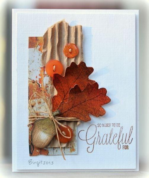 Осінні листівки своїми руками (60 цікавих ідей з фото) (43)