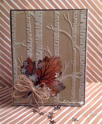 Осінні листівки своїми руками (60 цікавих ідей з фото) (45)