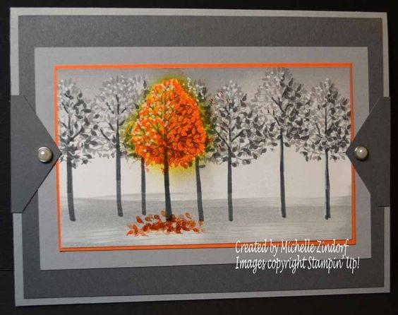 Осінні листівки своїми руками (60 цікавих ідей з фото) (46)