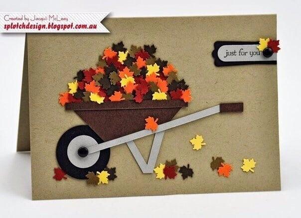 Осінні листівки своїми руками (60 цікавих ідей з фото) (5)