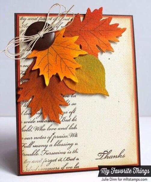 Осінні листівки своїми руками (60 цікавих ідей з фото) (54)