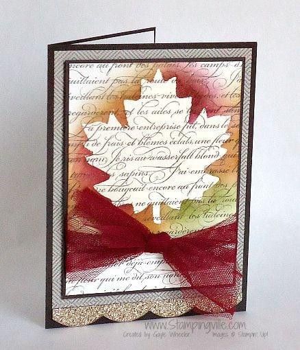 Осінні листівки своїми руками (60 цікавих ідей з фото) (55)