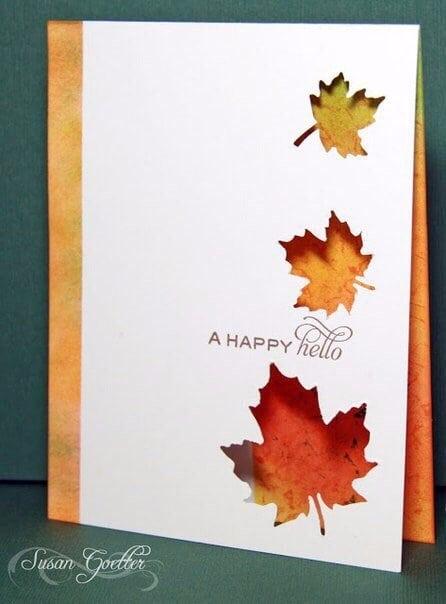 Осінні листівки своїми руками (60 цікавих ідей з фото) (59)