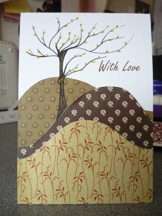 Осінні листівки своїми руками (60 цікавих ідей з фото) (7)