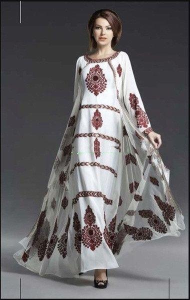 Сучасні вишиті сукні (30 фото) (16)