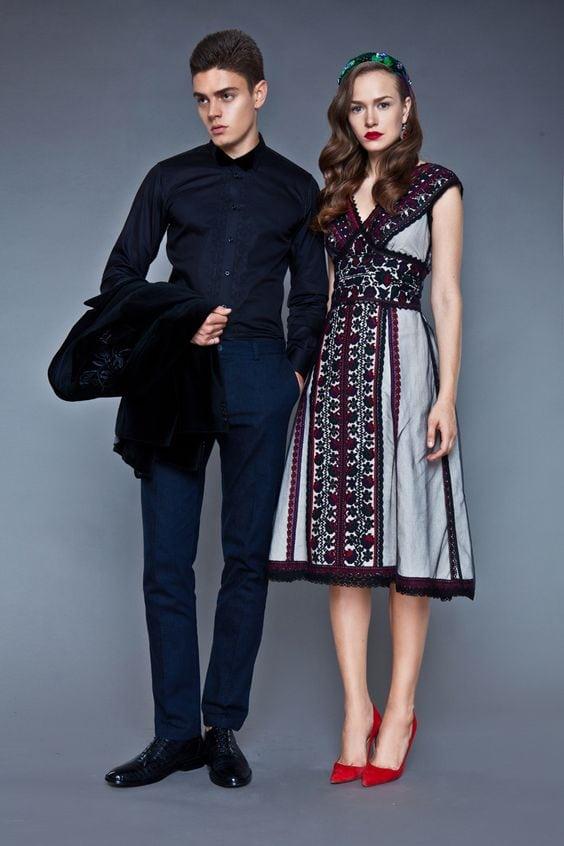 Сучасні вишиті сукні (30 фото) (30)